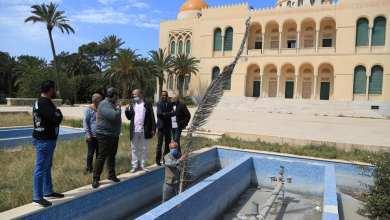 تجهيز قصر الخلد في الظهرة وسط طرابلس