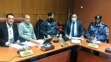 لقاءات أمنية وفنية ضمن الترتيبات لتأمين مباراة ليبيا وتونس في بنغازي