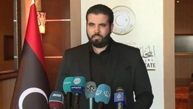 المتحدث باسم المجلس الأعلى للدولة محمد بن نيس