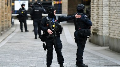 رجال الأمن في لندن يقبضون على مشتبه به في جرائم إرهابية