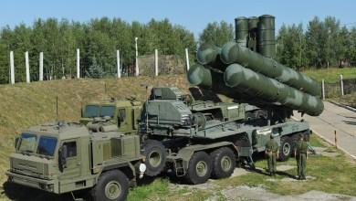 منظومة صواريخ إس 400 الروسية