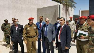 المدعي العام العسكري في طرابلس يزور السجون العسكرية