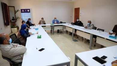اجتماع لعميد بلدية طرابلس المركز وأعضاء المجلس البلدي