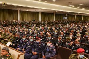 """الملتقى الأول لضباط الجيش الوطني الليبي المنعقد في مقر القيادة العامة بـ""""الرجمة"""""""