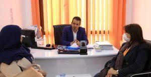 المفوضية العليا للانتخابات تبحث سبل دعم المرأة الليبية