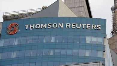 """مقر مؤسسة """"تومسون رويترز"""""""