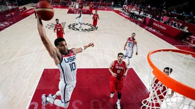 Basketball - Men - Group A - United States v Iran