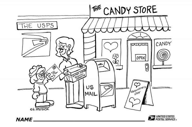 USPS: Color of love