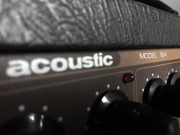 Acoustic Model 164  U2013 The Amp That Should Not Be