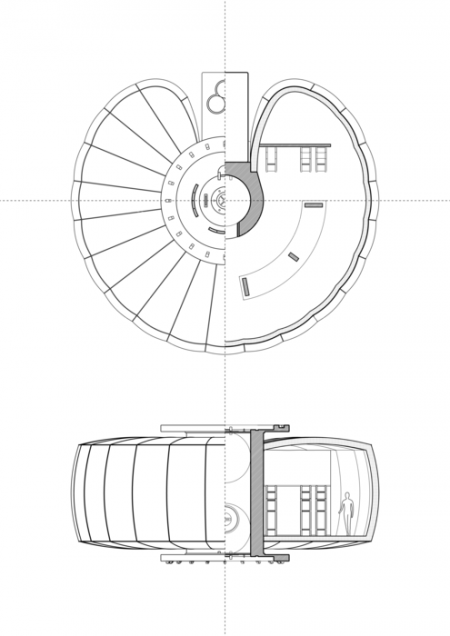 Modular International Lunar Colony proposed in design for ESA.