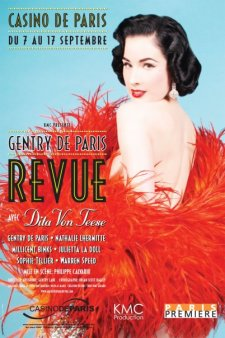 The Gentry de Paris Revue with Dita von Teese