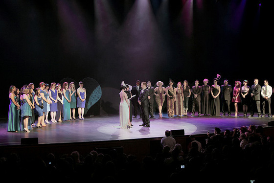 Michelle and Franky getting married in front of the BHoF 2009 audience.  ©Michael Albov