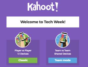Play a Kahoot.com