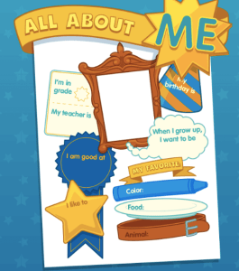 All About Me ABCYA Game