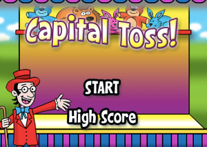 Capital Toss ABCYA Game