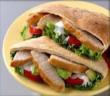 Pitas from Foccacia Bread
