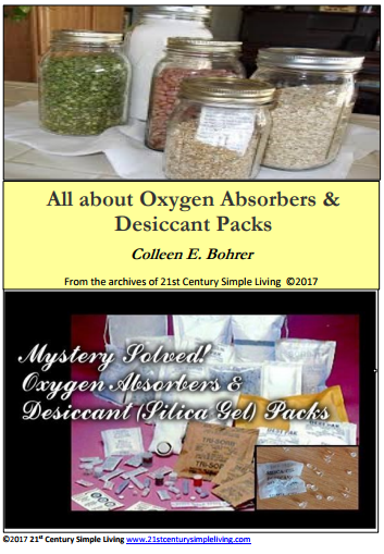 $0.99  sc 1 st  21st Century Simple Living & All about Oxygen Absorbers u0026 Desiccant Packs eBook u2013 21st Century ...