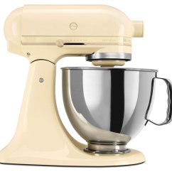 Kitchen Aid Blenders Drop Leaf Tables For Small Spaces 220 Volt Kitchenaid 5ksm150pseac Artisan Stand Mixer Almond Cream