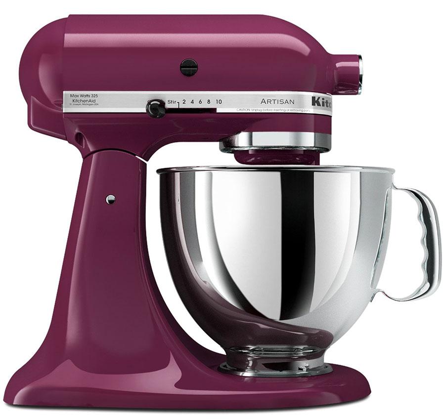 220 Volt KitchenAid 5KSM150PSEBY Artisan Stand Mixer