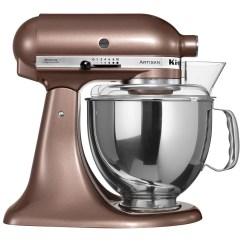 Kitchenaid Kitchen Round Formica Table 220 Volt 5ksm150pseap Artisan Stand Mixer