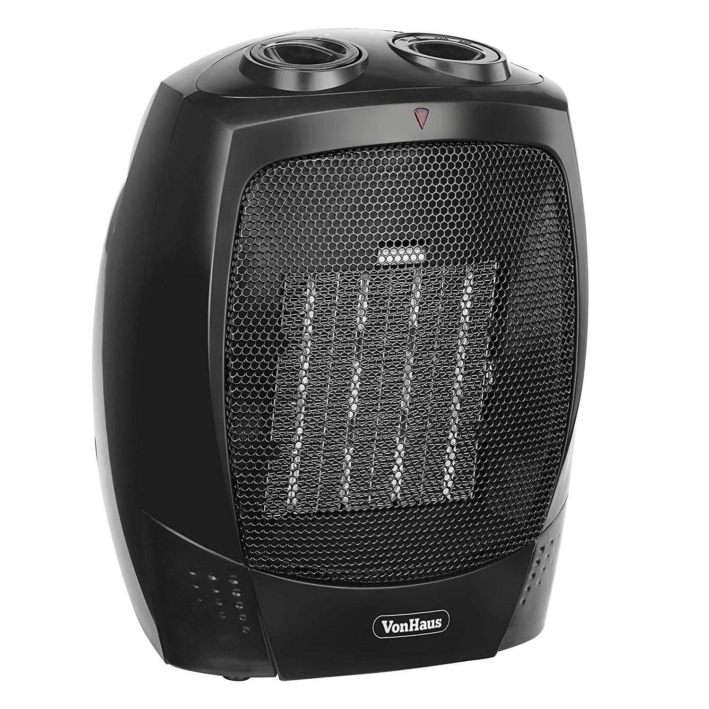 electric fan heaters rj45 to db25 vonhaus 14039 150 watt ceramic heater for 220