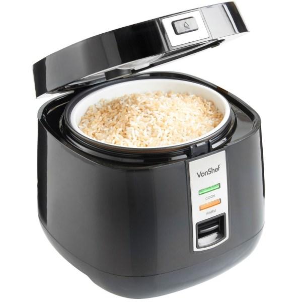 Vonshef 220 Volts Rice Cooker 1.8 Liter 8-10 Cups 240 Volt 50 Hz