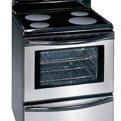 Large Kitchen Appliances Mosaic Tile Backsplash Major Cooktops Gas Cooking Ranges