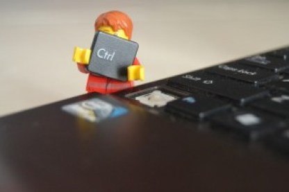 Lego with computer