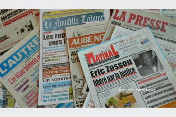 *Savoir News* : Voici les grands titres du quotidien national (La Nation) et des journaux privés en kiosques ce mardi 16 Fév 2021 au Bénin