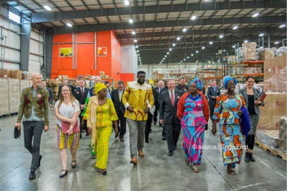 *Togo First* : Olowo-N'djo Tchala reçoit un financement du Trade Hub américain pour intensifier ses exportations d'amandes de karité