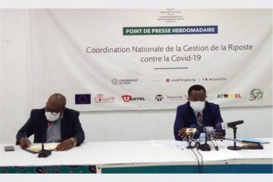 *Togo Presse* : COVID 19: La coordination de la riposte déplore une augmentation de cas dans le Grand Lomé