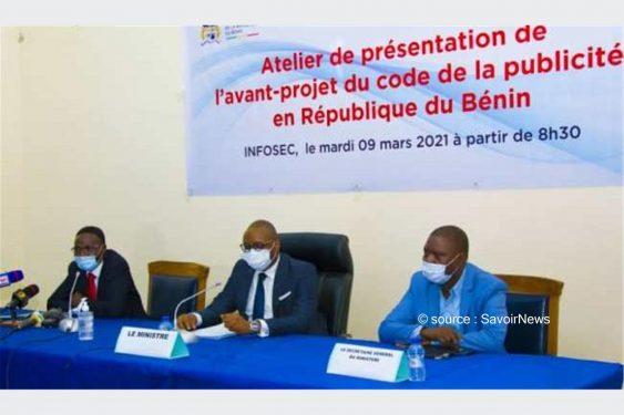 *Savoir News* : Code sur la publicité du Bénin : L'avant-projet présenté aux différents acteurs pour être enrichi