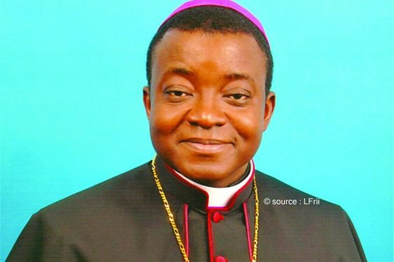 "*L-Frii* : Togo / Monseigneur Barrigah : ""vaincre nos tombeaux"""