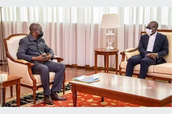 *Savoir News* : Bénin : Bertin Koovi, ancien opposant radical reçu par Patrice Talon