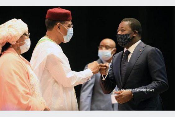 *Savoir News* : Politique : Faure Gnassingbé à l'investiture de Mohamed Bazoum à Niamey