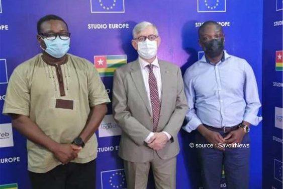 *Savoir News* : Togo/Médias : L'Ambassadeur de l'UE au Togo dans les locaux du COAWEB
