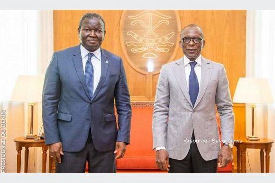 *Savoir News* : Bénin/UEMOA: Abdoulaye Diop au Palais présidentiel pour «remercier» Patrice Talon