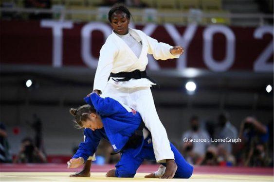 *LomeGraph* : Jeux olympiques 2021: médaille d'or en judo pour la Franco-togolaise Clarisse Agbégnénou, une fierté