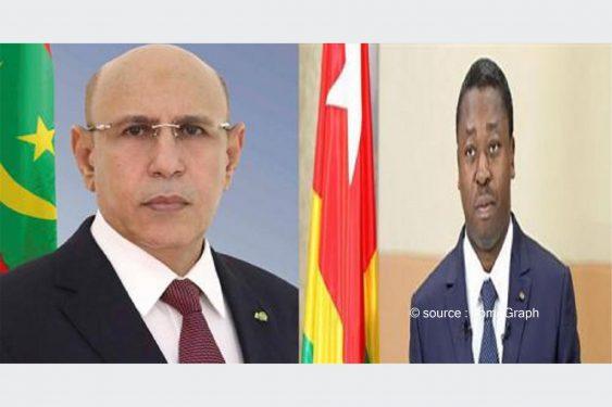 *LomeGraph* : Climat, Covid-19, Sahel : Faure Gnassingbé en discute à Nouakchott avec El Ghazouani