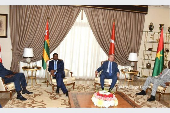*Togo Presse* : Situation sécuritaire en Africaine de l'Ouest et au sahel: Un mini-sommet quadripartite entre les présidents Faure Gnassingbé, Recep Tayyip Erdogan, Christian Kaboré et George Weah à Lomé