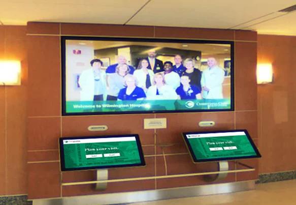 Healthcare  Digital Signage Wayfinder and Mobile in ONE