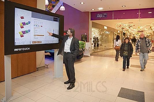Laguna Beach Digital Touchscreen Showroom Digital