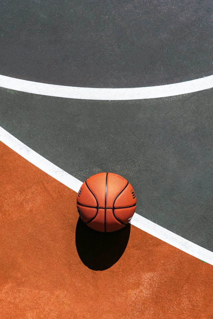 Basketball On Court