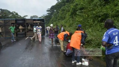 Photo de Cameroun: Un accident impliquant l'agence Garanti Express fait 4 morts à Mbankomo