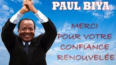 Photo de Cameroun: Paul BIYA réélu pour un mandat de 07 ans avec 71,28% des voix aux élections du 7octobre 2018
