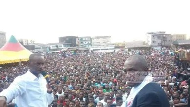 Photo of Cameroun – Présidentielle 2018 : Cabral Libii fait foule au stade Cité Cicam de Douala
