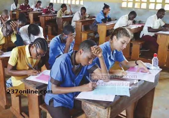 Eleves lycée cameroun