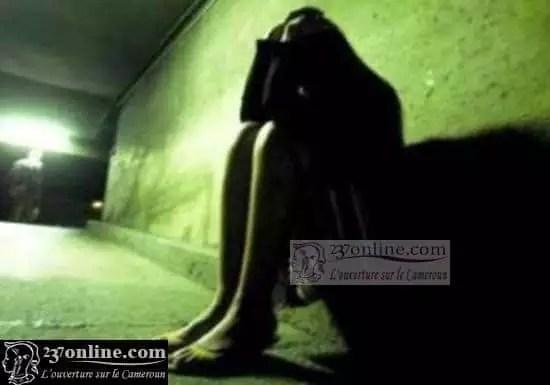 Une femme violée