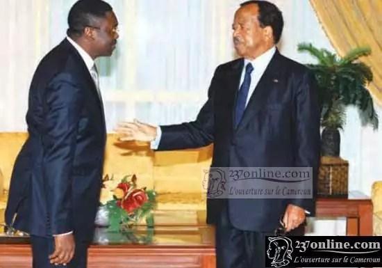 Ferdinang Ngo Ngo et le président Paul BIYA
