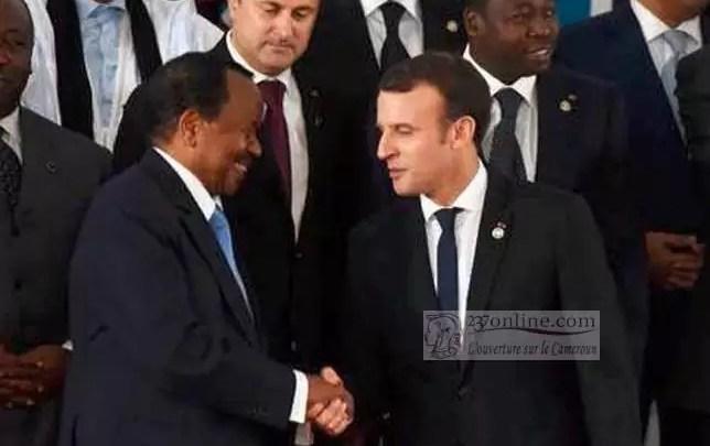 Macron et Biya le sage